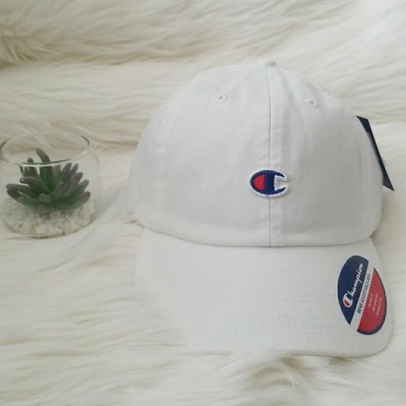 07e47ace Champion Accessories | White C Dads Hat | Poshmark